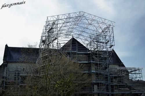Abbaye de lachalade travaux 2018 1