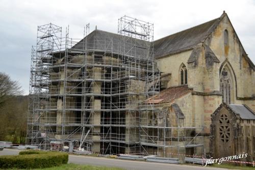 Abbaye de lachalade travaux 2018 6